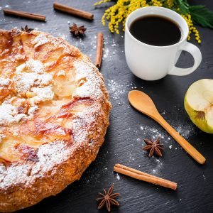 Apple tart cake